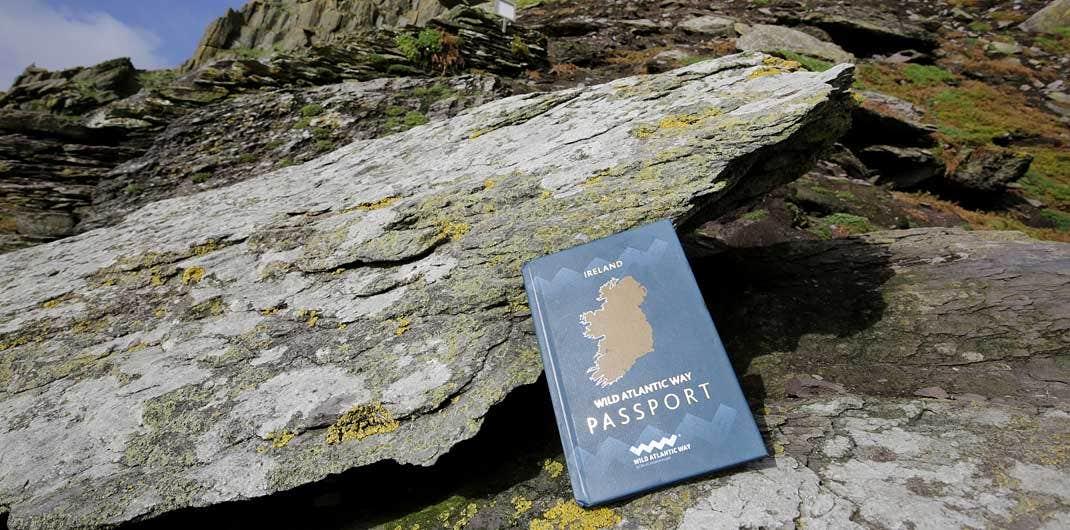 Image of the hardcover Wild Atlantic Way Passport
