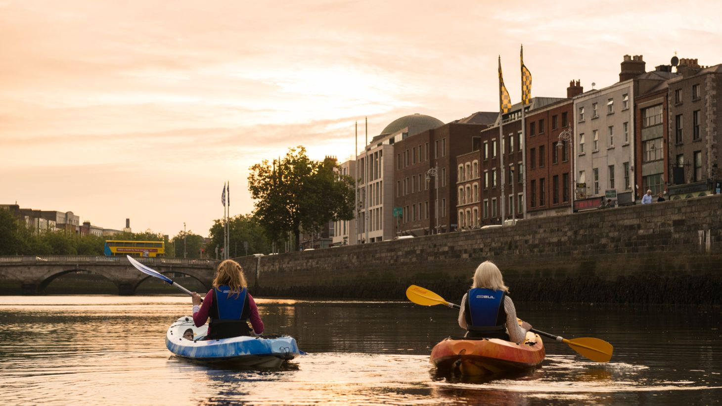 Go kayaking on the River Liffey.