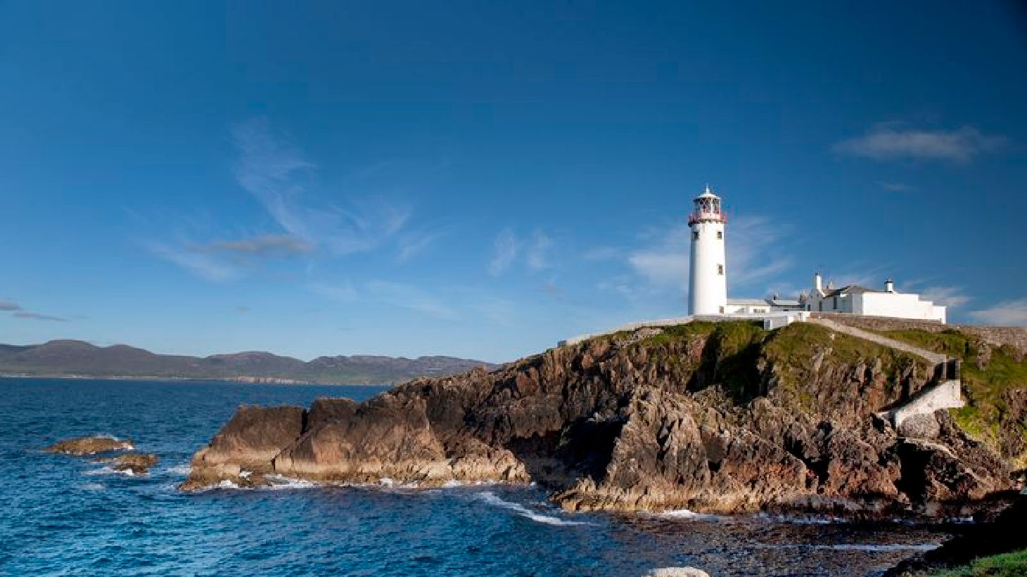 Soak up stunning views at Fanad Head Lighthouse.