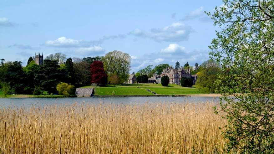 Visit the truly beautiful Castle Leslie Estate.