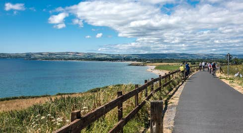 A sunny day beside the sea on Waterford Greenway, Waterford