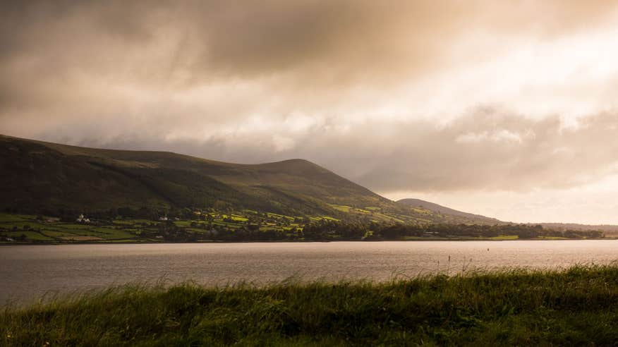 Check out the spectacular Cooley Peninsula.