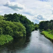 Image of the River Liffey in Newbridge in County Kildare