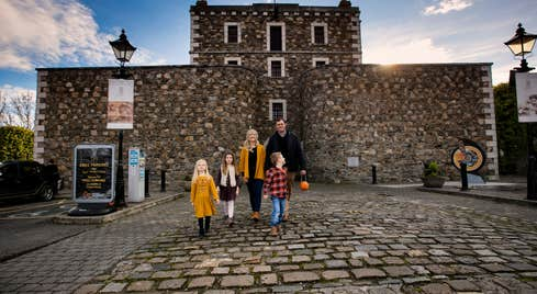 Family day out at Wicklow Gaol