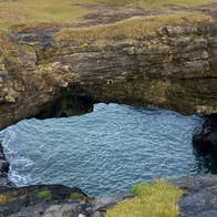 Blowhole at The Fairy Bridges Bundoran County Donegal