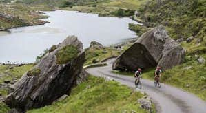 Image of cycling around Ring of Kerry