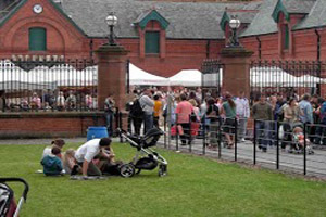 Red Stables Food Market, St Anne's Park