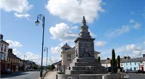 Abbeyleix town