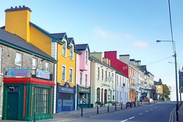Image of Lisdoonvarna town in County Clare