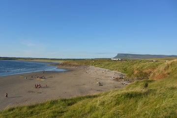 Image of Rosses Point beach in County Sligo
