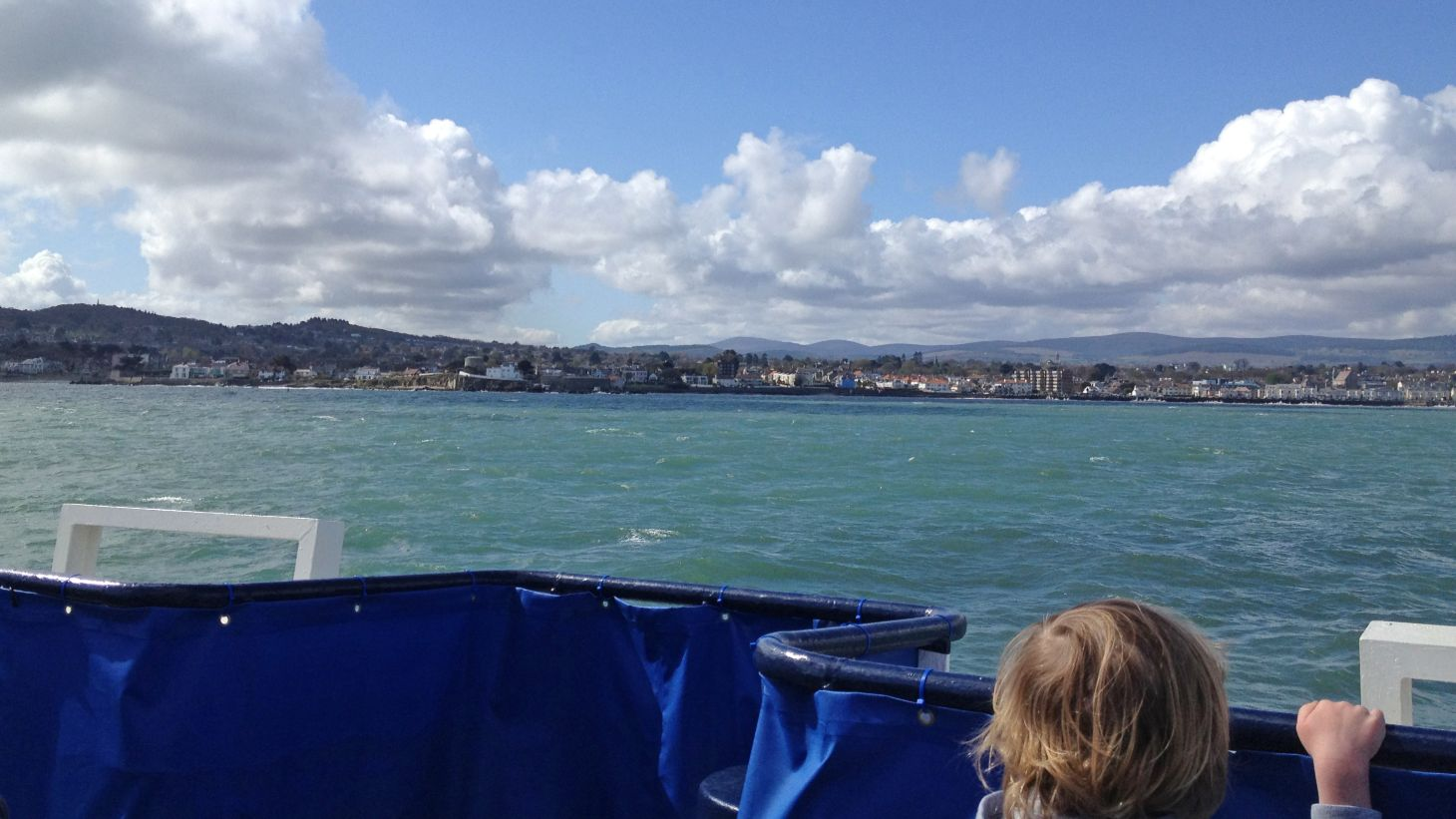Take the family on a boat trip to see Dublin Bay.