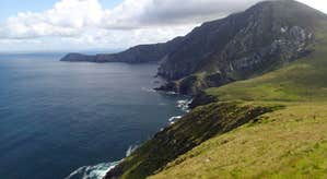 Image of cliffs on Achill