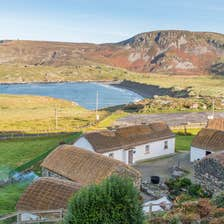 Image of houses in Glencolmcille in County Donegal