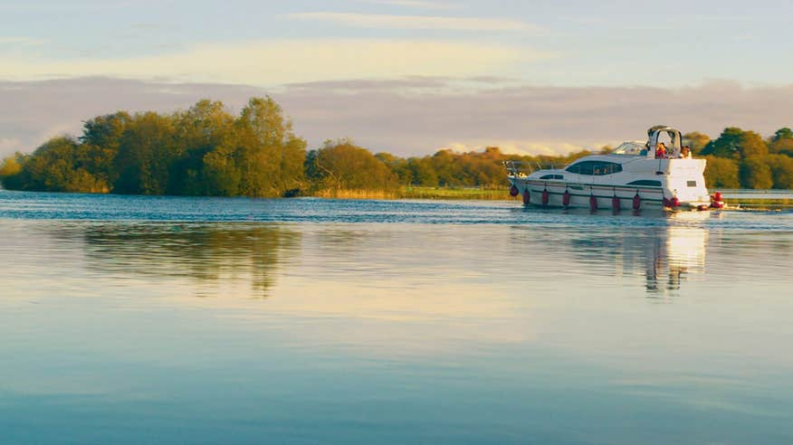 Book a boat cruise on the River Shannon.