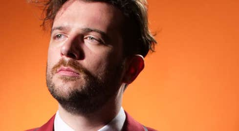 Comedian Kevin McGahern playing at the Town Hall Theatre, Galway