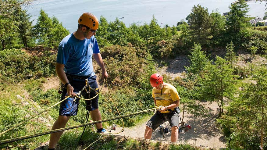 Take on the high ropes with some friends at Carlingford Adventure Centre.