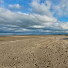 Image of a beach in Termonfeckin in County Louth