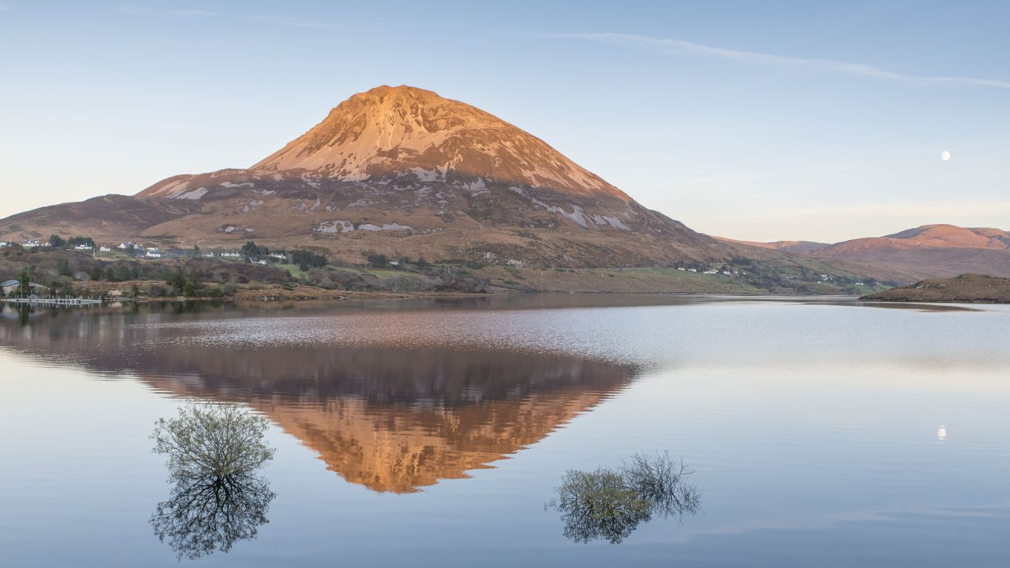Admire majestic Mount Errigal.