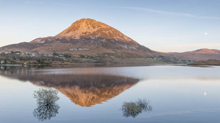 Donegal's iconic Errigal Mountain.
