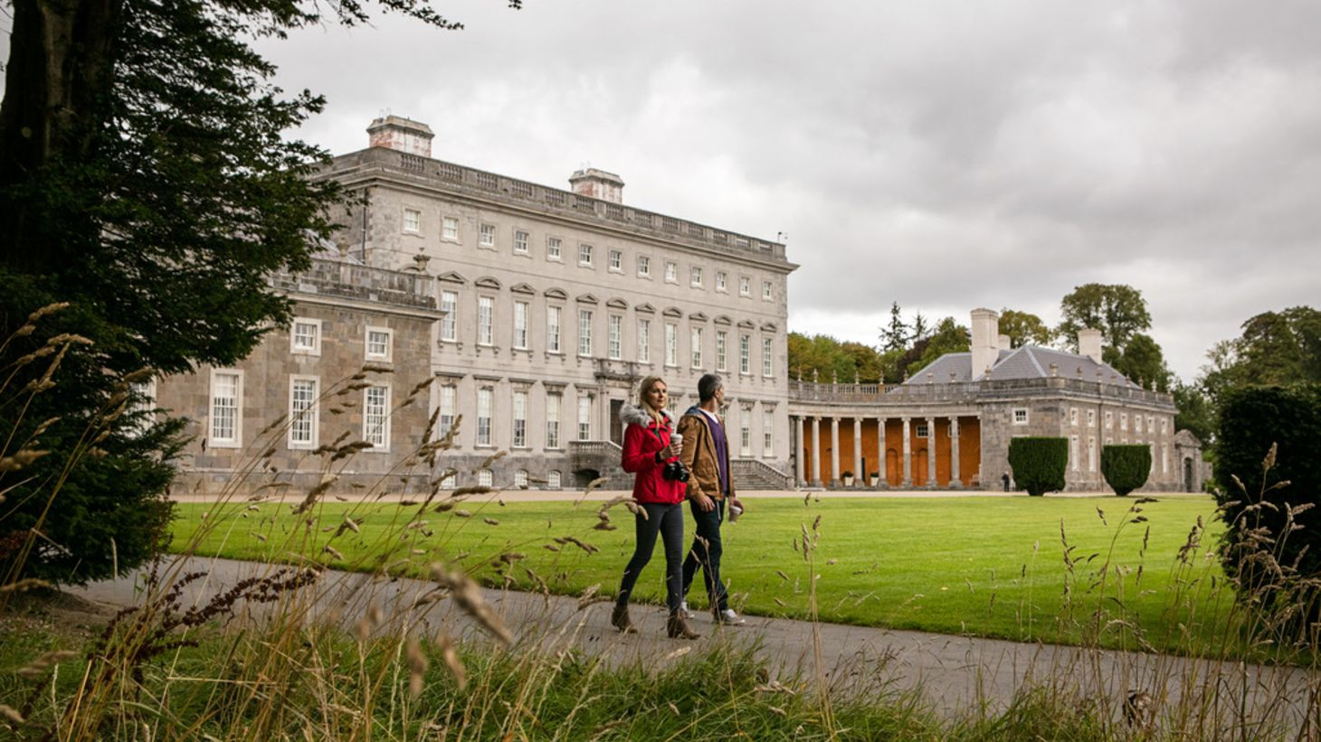 Explore the grounds of Castletown House.