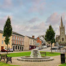 Image of Clones town in County Monaghan