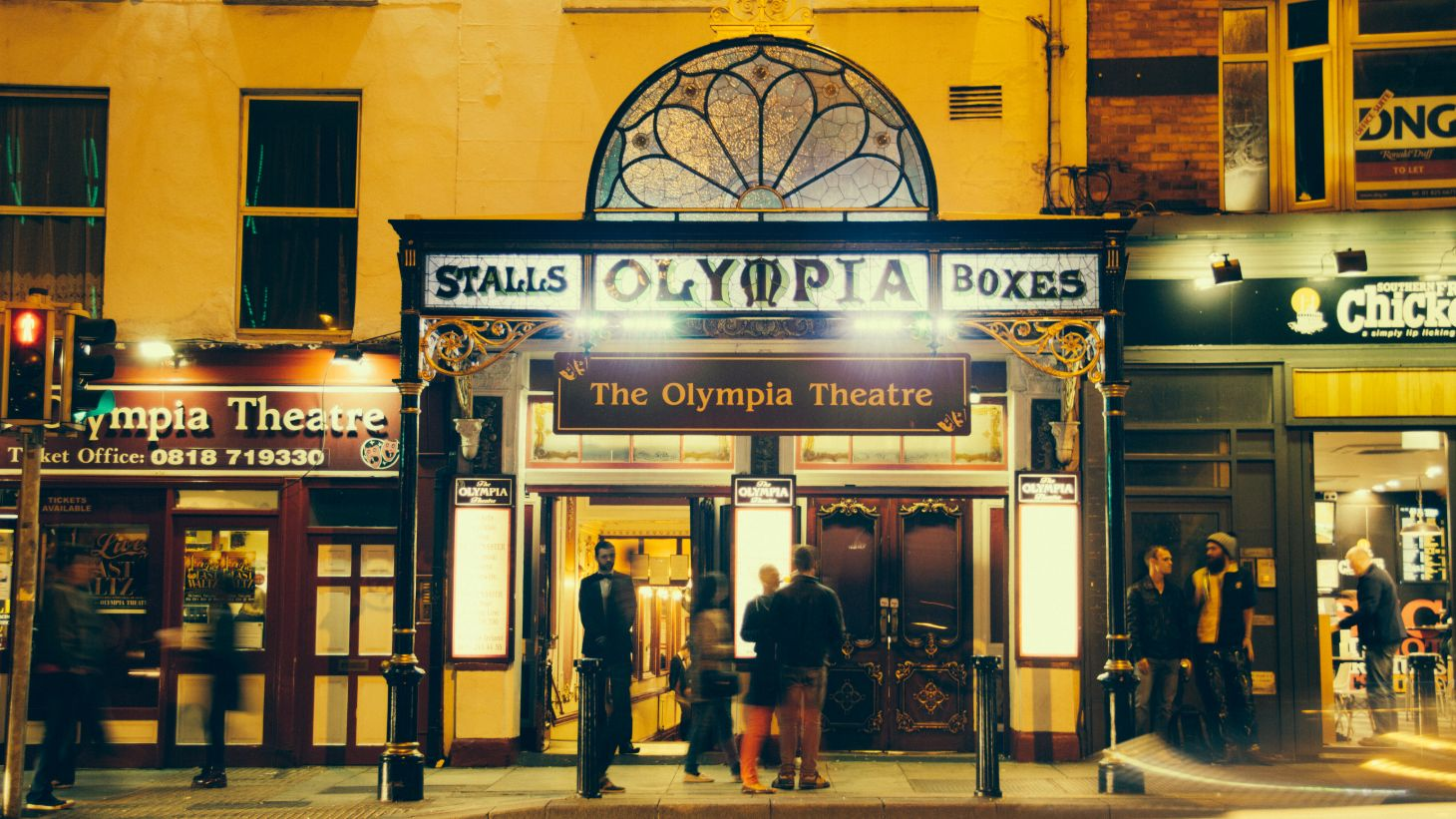 The Olympia Theatre is one of Dublin's oldest and most renowned theatres.
