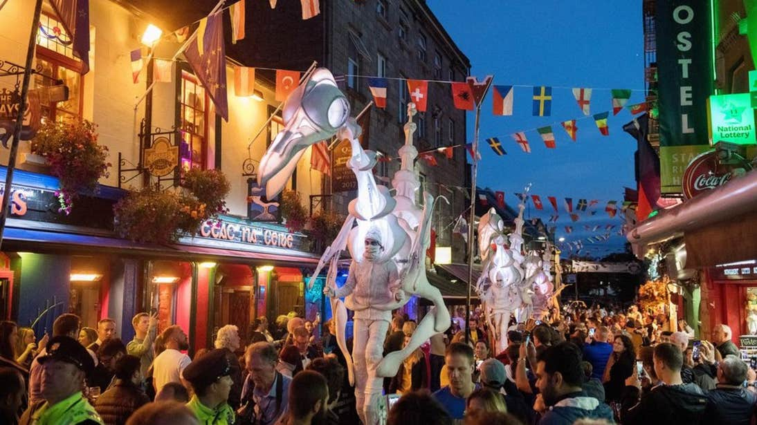 Colourful performances at Galway International Arts Festival