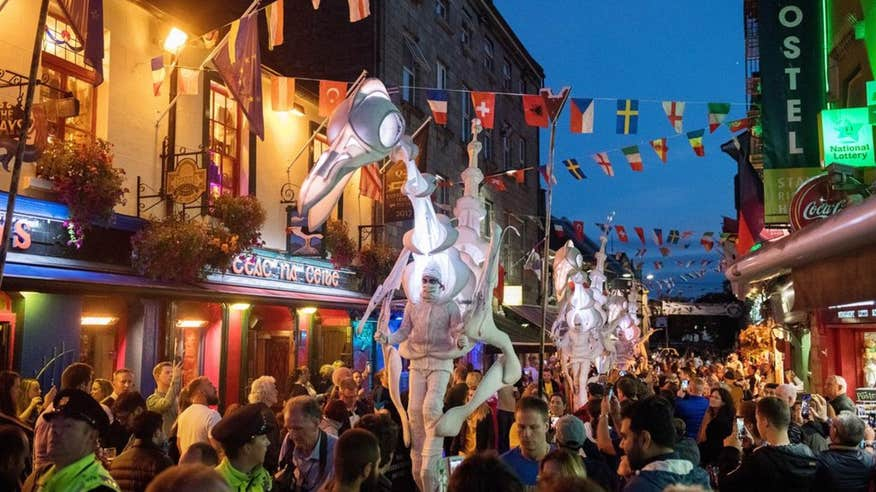 Immerse yourself in art and culture in Galway.