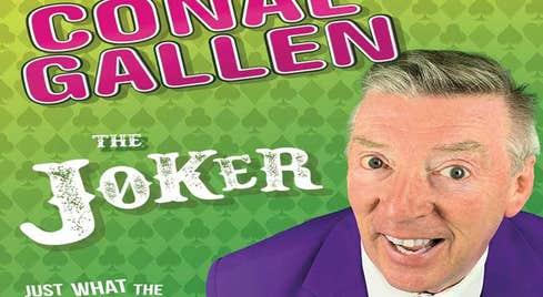 Comedian Conal Gallen brings his show The Joker