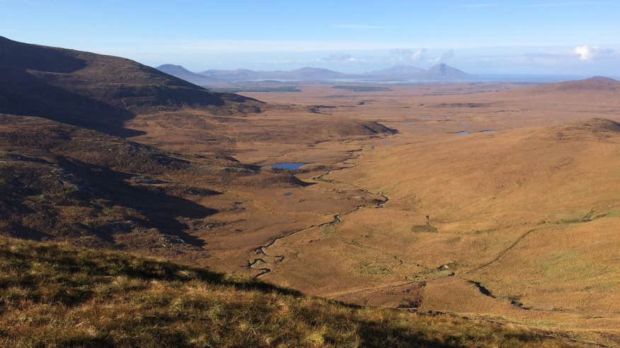 Explore the vast Wild Nephin Ballycroy National Park