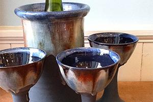 Rossa Pottery Goblets