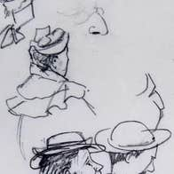 Edith Somerville, Character Sketches, c.1890. Collection Crawford Art Gallery, Cork.