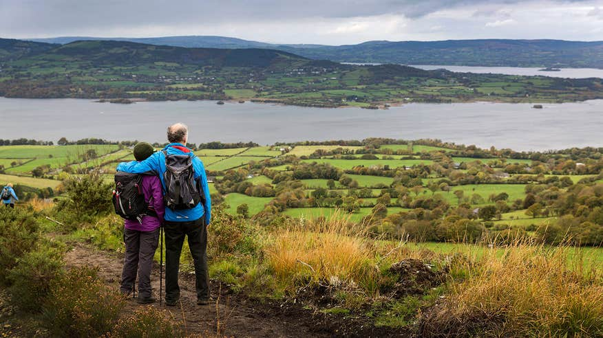 Take in thepanoramic views of Lough Derg.