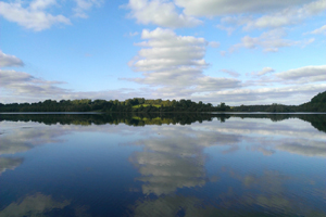 A lake at Killykeen Forest Park