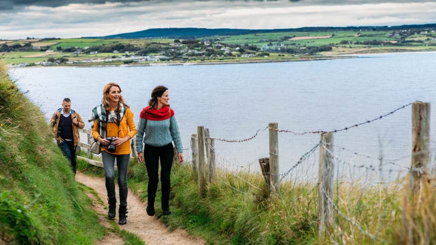 Discover cliffs and scenic views in Waterford