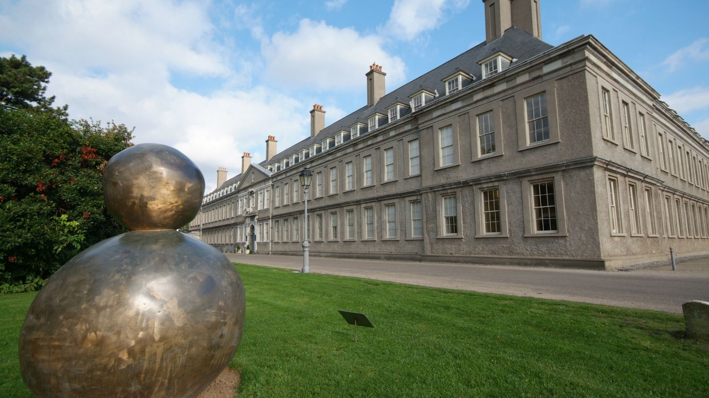 Marvel at the fascinating works of art at IMMA.