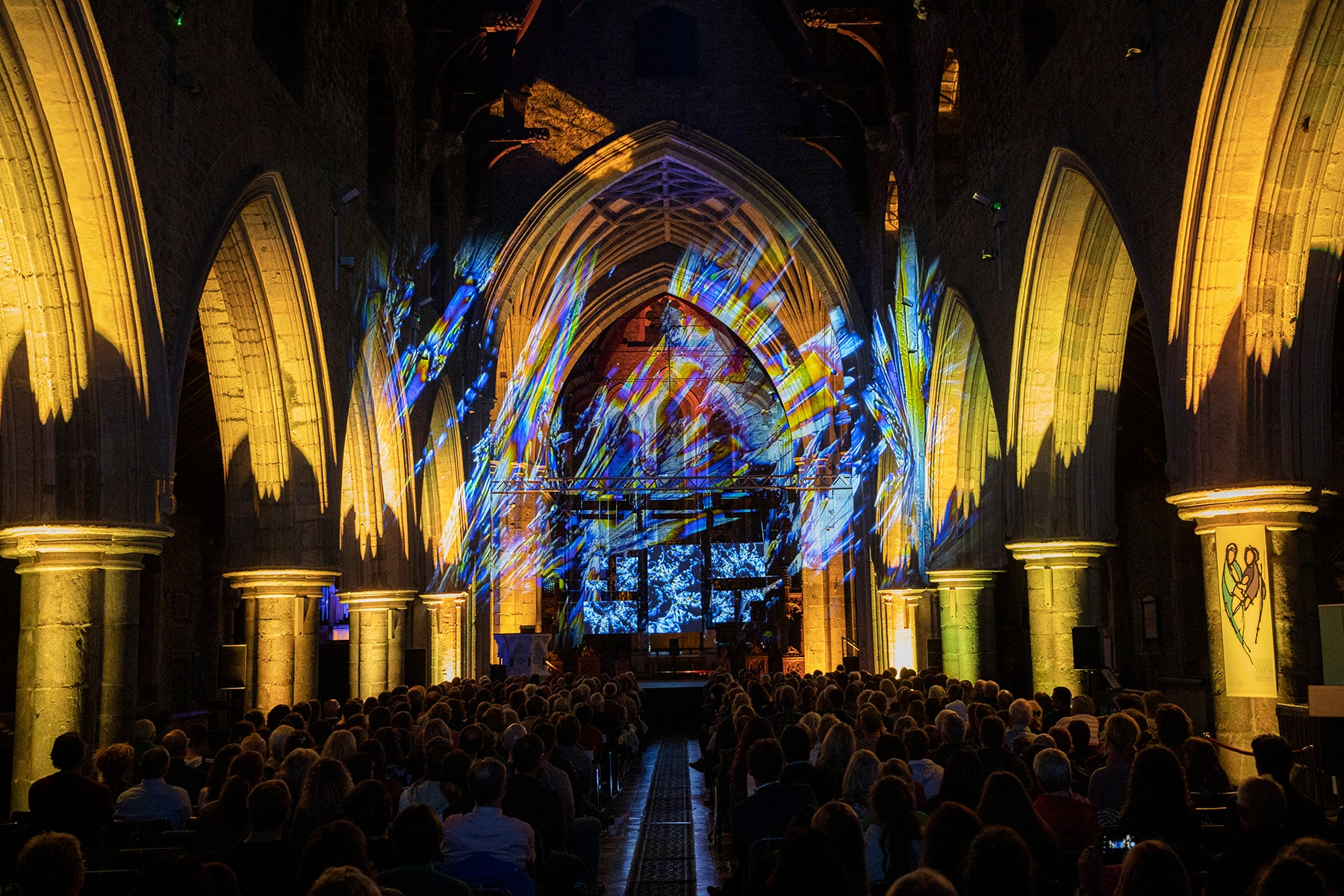 Flux, by Eat My Noise in St. Canice's Cathedral, Kilkenny Arts Festival 2019