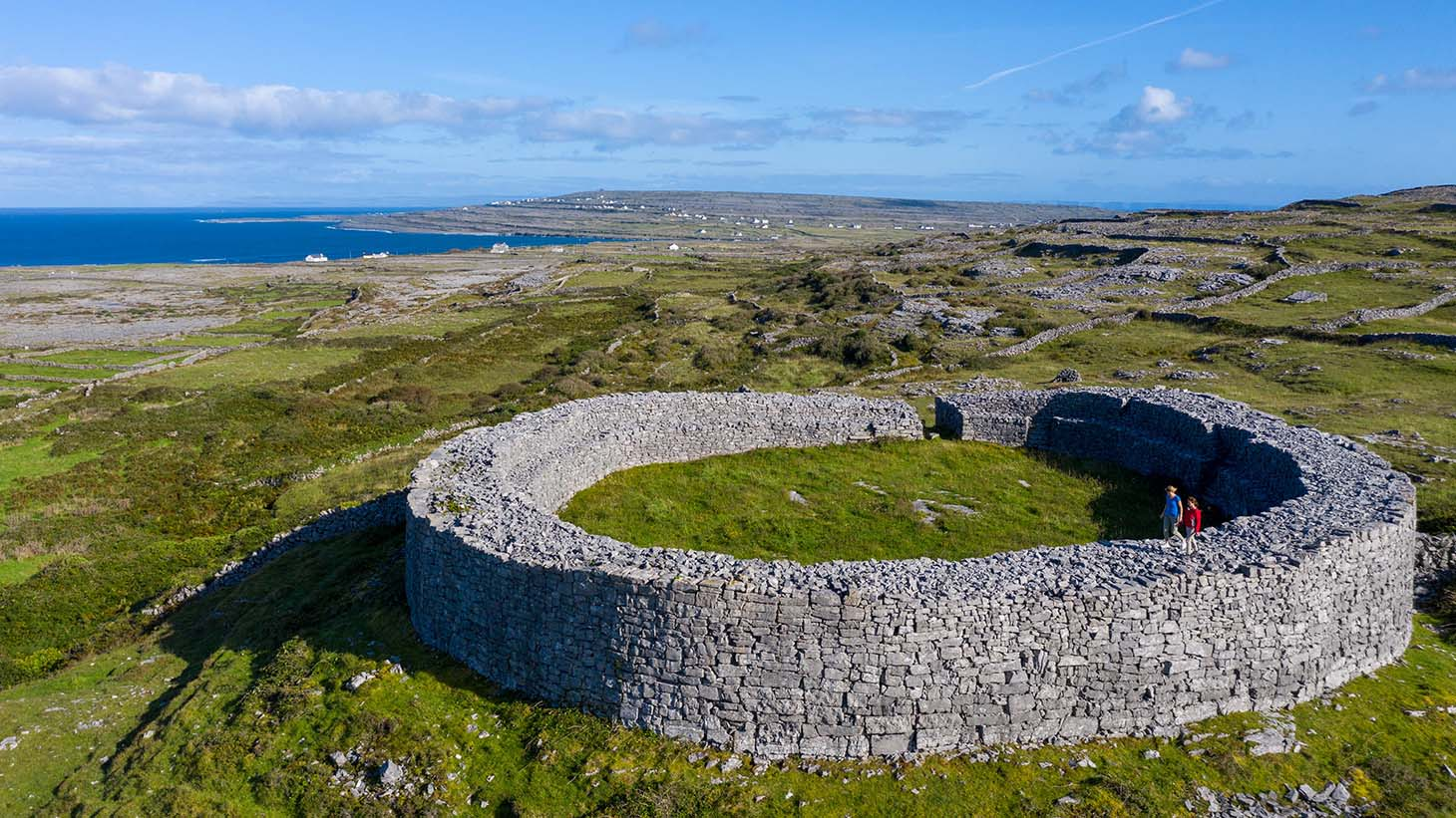 Plan a trip to scenic Inishbofin Island, just off the coast of Connemara.
