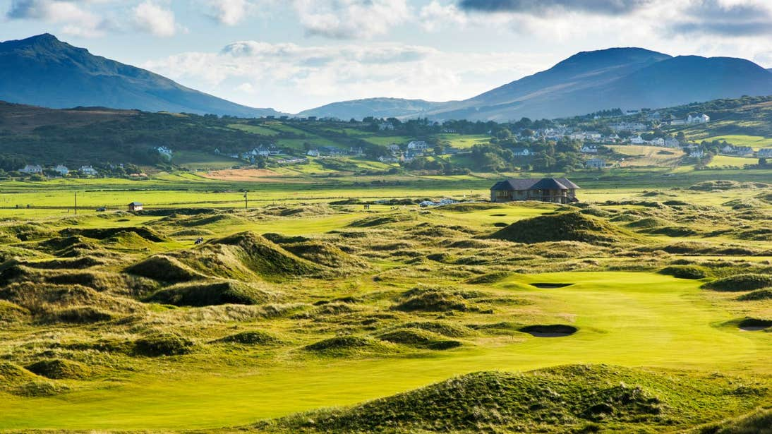 Ballyliffin Golf Course in County Donegal