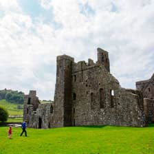 Image of Fore Abbey in County Westmeath