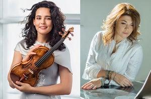 Alena Baeve & Katia Skanavi