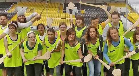 The Kilkenny Way Hurling Experience group photo