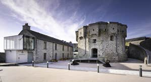 Outside view of Athlone Castle Visitor Centre