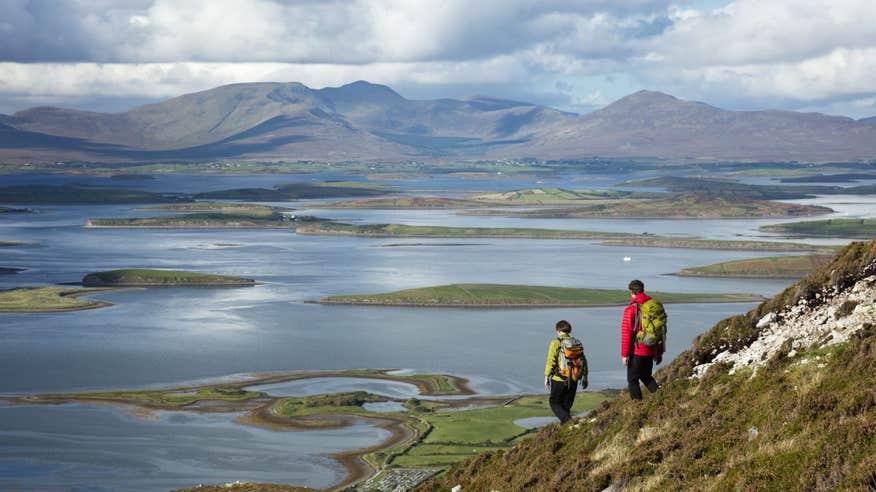 Climb the historic Croagh Patrick mountain in County Mayo.