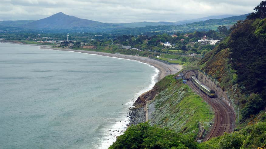 See incredible views on your way to Vico in Dalkey.