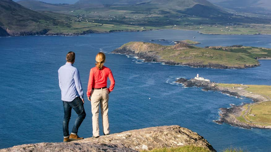 Enjoy incredible views from Valentia Island.