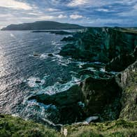 View of the Kerry Cliffs, County Kerry