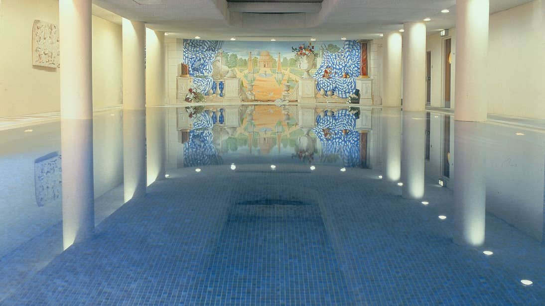 A peaceful swimming pool at The Spa at The Merrion, Dublin