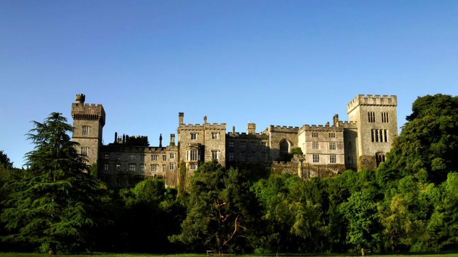 Explore the beautiful gardens of Lismore Castle.