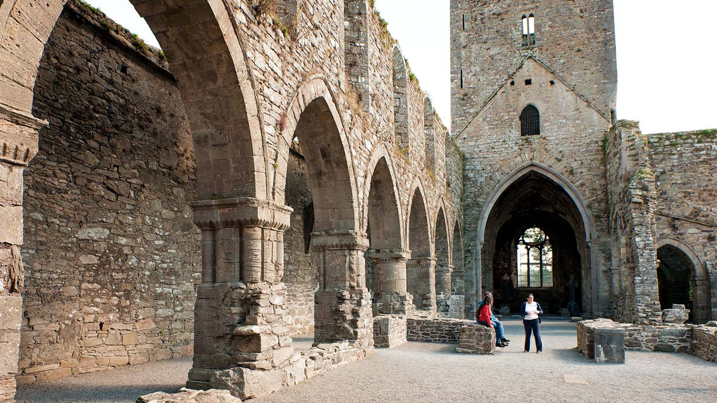 Explore the remains of Jerpoint Abbey.